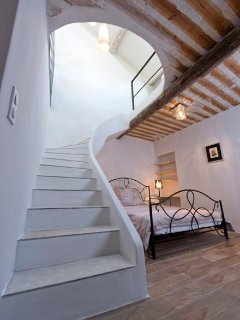 open bedroom «Bandol» with separate bathroom