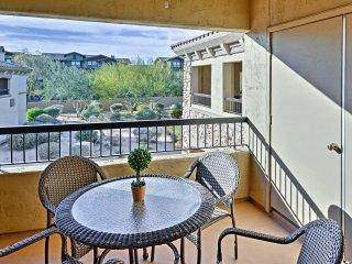 Upscale 2BR Scottsdale Condo-Balcony & Pool Access