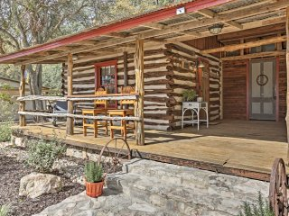 'Gruene Cabin' - Pet Friendly New Braunfels Studio