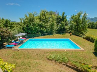 House with private pool on the outskirts of village. Quiet street & nice views