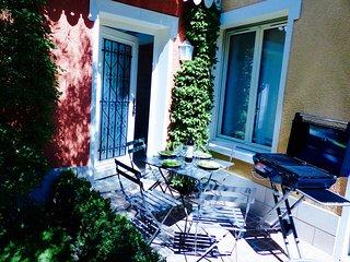 Maison grand duplex cosy de qualité, verdure et tranquillité à 10mn* de Paris