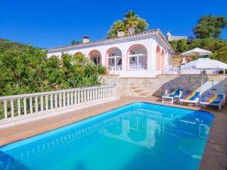 Villa Astoria in Sta. Maria de Llorell, privater Pool, sehr schoner Meerblick