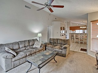 With 2 bedrooms and 2 bathrooms, this condo comfortably hosts up to 6 guests.