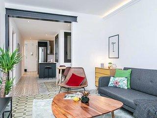 Beautiful interior designed flat in Montjuic