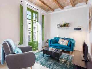 Authentic design 2bed close to la Fira BCN