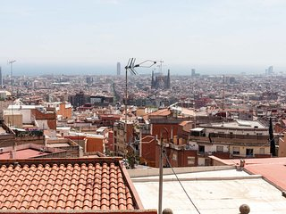 Amazing views of BCN, close to Park Güell