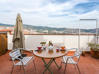 Lovely Penthouse with amazing views of BCN