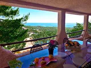Villa Le Terrazze di Pula - detached pool villa with breathtaking sea views