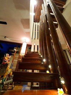 Majapahit Beach Villas - Villa Nataraja - Stairs