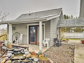 NEW! Cozy Kalispell Studio on 1 Acre Near Shopping!