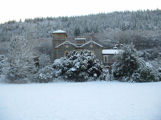 Coed y Celyn Hall. A great place to come back to you after a long walk.