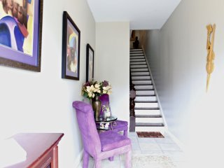 Sit a moment and enjoy the foyer