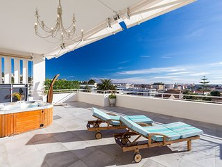 Luxurious two bedroom two bathroom apartment in Cannes with large terrace.