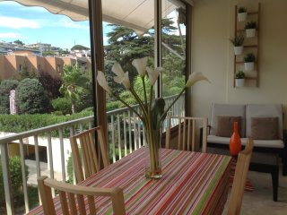 Spacious studio in the center of Cannes, nice terrace, easy walk to the