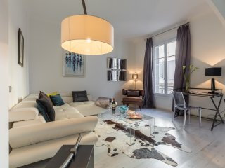 Centrally located modern accommodation in Cannes with aircon and high ceilings.