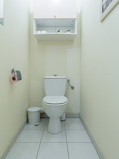 There is a seperate independant WC