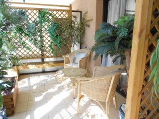 Superb one bedroom accommodation with a lovely big terrace in Cannes.