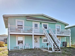 New! 7BR Holden Beach Home - Only Steps from Beach
