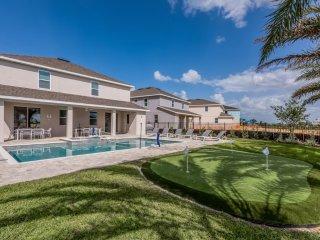 EncoreResort 2120*Luxury Resort Homes*Near Disney*AquaPark*Private Pool & Spa*