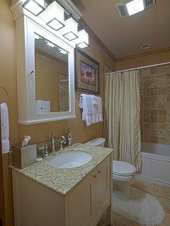 5.5 baths will ensure no waiting at Big Bear.