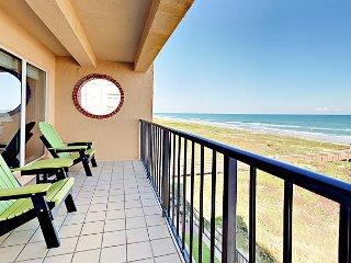 4th Floor 2BR Beachfront Condo w/ Pool, Hot Tub & Direct Beach Access #402