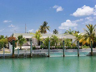 Canal-Side 4BR Home w/ Large Private Dock, Covered Patio & Waterfront Pool