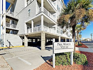 6BR Condo w/ Ocean, Inlet, & Marsh Views – Close to Beaches & Excitement