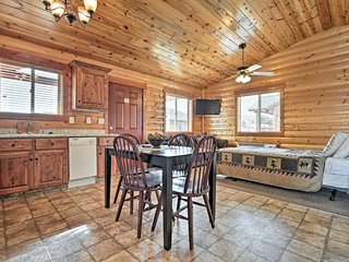 This cozy cabin boasts accommodations for up to 6 guests.