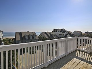 Sippin' Seaside - Ocean View w/ Elevator & Easy Beach Access