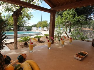 Trullo & Villa SaMax -  private pool, air-con & short walk to village