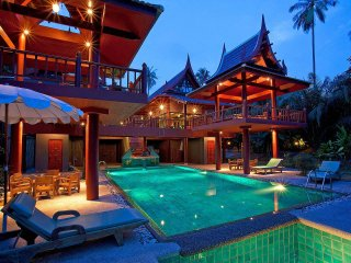 Laemset Lodge | 6 Bed Home with Private Pool in Laem Set Koh Samui