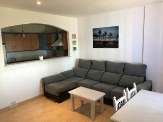 Apartamento en primera línea de playa de los Lances, Tarifa