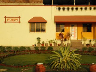 Posh 2BHK Bungalow with Landscaped Garden and Swimming Pool available for rent
