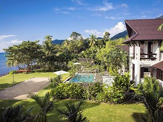Baan Hat Kai Mook | 4 Bed Beachfront Pool Villa Sunset Coast Koh Chang