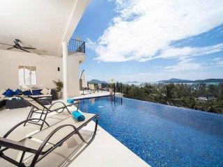 Villa Hin Fa | 8 Bed Ocean View Property on Rawai Hills in Phuket