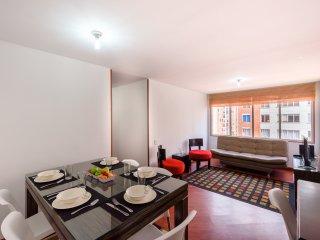 En salitre, apartamento familiar para 6 personas