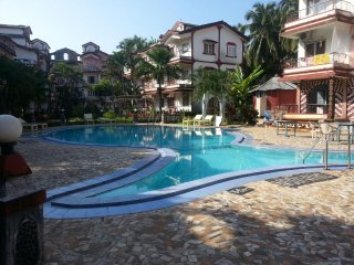 Calangute 1 Bedroom Apartment with Pool