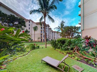 Garden-view condo w/resort pools, hot tubs & oceanfront location - walk to beach