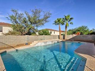NEW! 4BR Tucson House w/ Pool, RV Parking & Views!