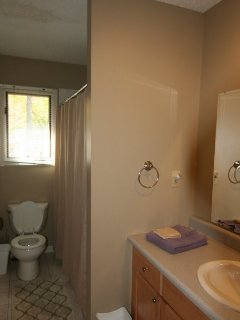 Upstairs bathroom at Celtic Mist.
