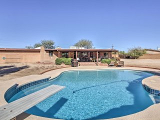 NEW! 3BR Home in Tuscon w/ Pool & Mountain Views!