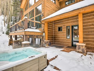 New! 4BR Breck Home w/ Deck & Hot Tub on 1 Acre!