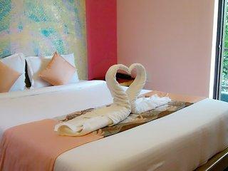 Room #208 Stay Near Vagator Beach