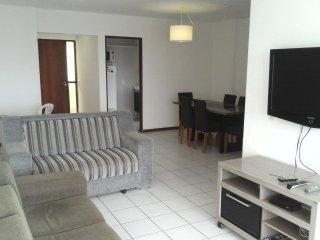 Apartamento por Temporada em Maceio praia da Ponta Verde com 03 quartos
