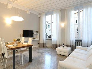 2 bedrooms apartment in Lucca old town with balcony, air-conditioning, wifi.