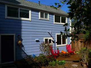 NEW! Independent Cottage with deck & Garden - Cole Valley / Haight Ashbury