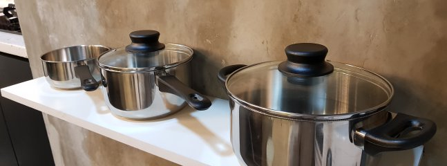 Pots and Pans available
