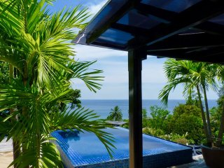 Kata Beach 2 Bedroom Ocean View Private Pool Penthouse Walk to Beach