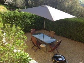 Mini Villa Corte haute Corse possibilite de 5 voyageurs etat neuf, jardin