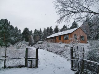 Bright newly renovated cottage with large garden in Cairngorms National Park